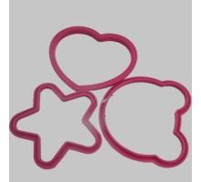 форма для печенье из силикона мод а24