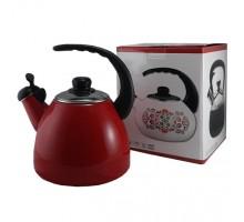 чайник эмаль 2,2л арт к23 Красный