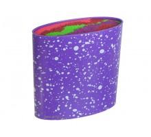 подставка для ножей силикон мод 10-292 Фиолетовый