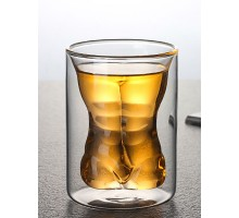 стакан двойное стекло 250мл 1шт