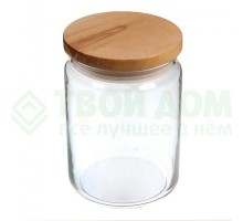 банка для сыпучих стекло 550мл _x000D_ мод21-6-36
