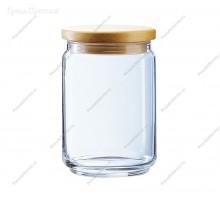 банка для сыпучих стекло 1100мл _x000D_ мод21-6-39