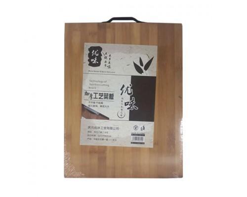 доска разделочная 30*40*1,8 бамбуковая 4-46 арт 8145