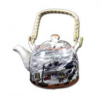 чайник заварочный керамика 6619 800ml №5