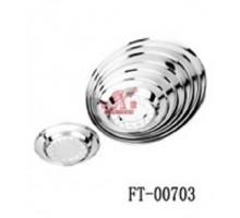 тарелка глуб нерж мод FT00703 18см