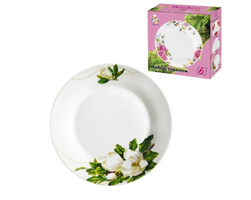 Набор тарелок круглых 200мм 6ед мод 7882