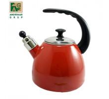чайник эмаль 2,2л арт к22 Красный